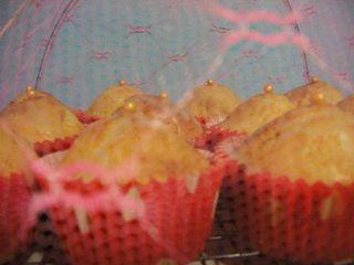 Lemon and Cardamon muffins